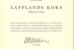 Omistuskirja-Lapplands-kors